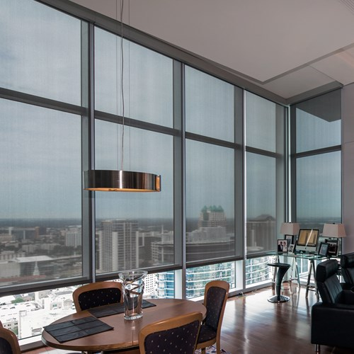 View RB 500+ Crank Series Roller Shades