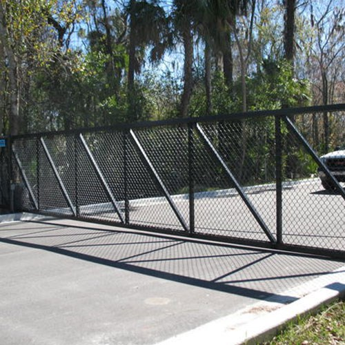 View Cantilever Gates - Chain Link