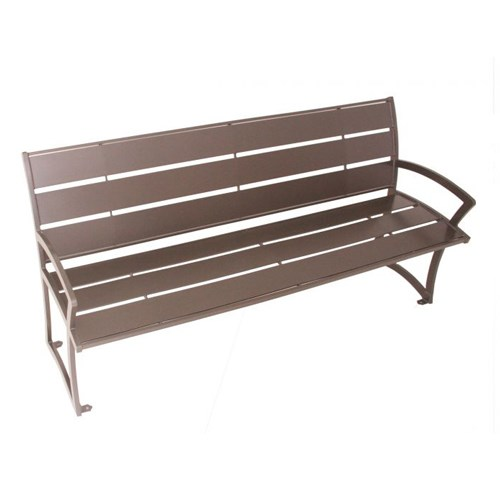 View Madison Powder Coat Steel Bench
