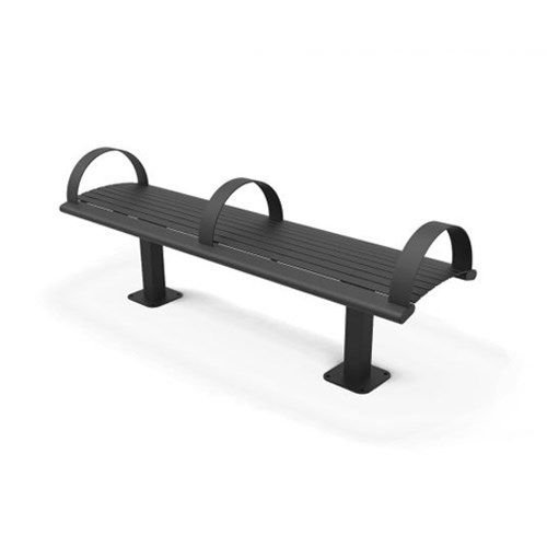 View Richmond Steel Backless Bench