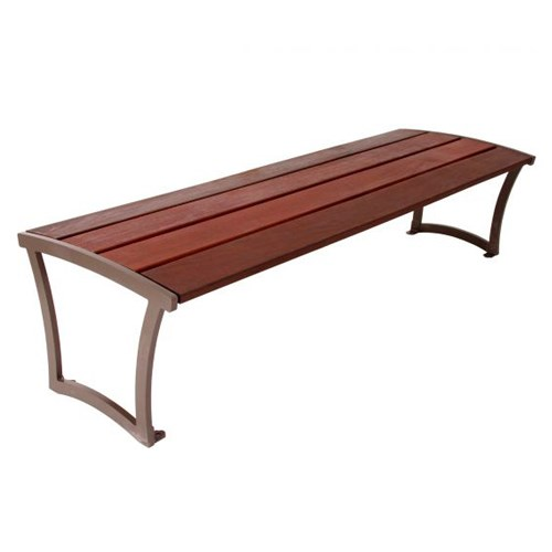 View Madison Ipe Wood Backless Bench