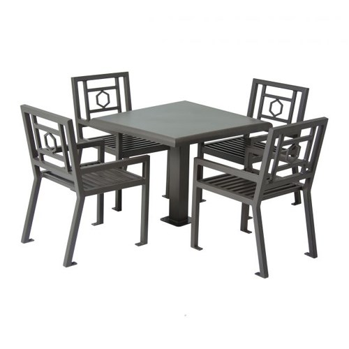 "View Huntington 36"" Square Table with 4 Chairs"