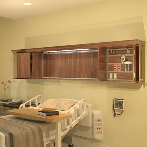 View Mirage™Patient Service Headwall