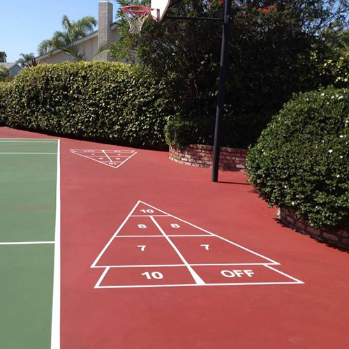 View Shuffleboard Court