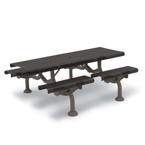 View Camden 7' picnic table