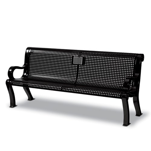 View Specialty Estate 6' memorial bench