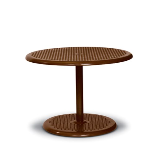 "View Camino 42"" round pedestal table"