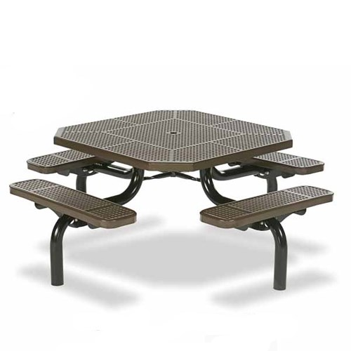 "View Spyder 46"" octagon table"