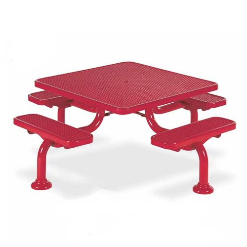 "View Spyder 46"" square table"