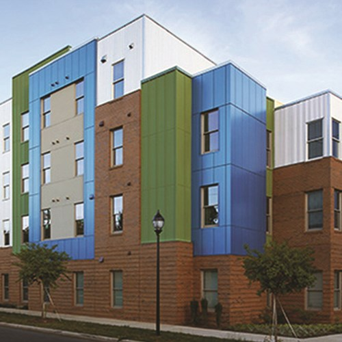 View Insulated Panel System - Benchmark by Kingspan EVO™ 'Karrier Facade System'