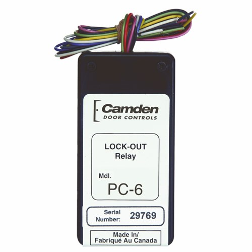 View CX-PC-6: Lock Out / Secondary Activation Module Relay