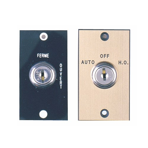 View  CM-160, CM-170, CM-180 Series: Automatic Operator Control Key Switches