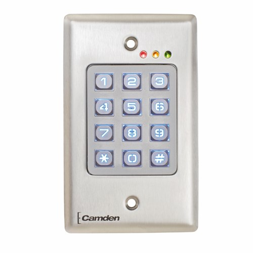 View CM-120: Flush Mount Wired and Wireless Keypads