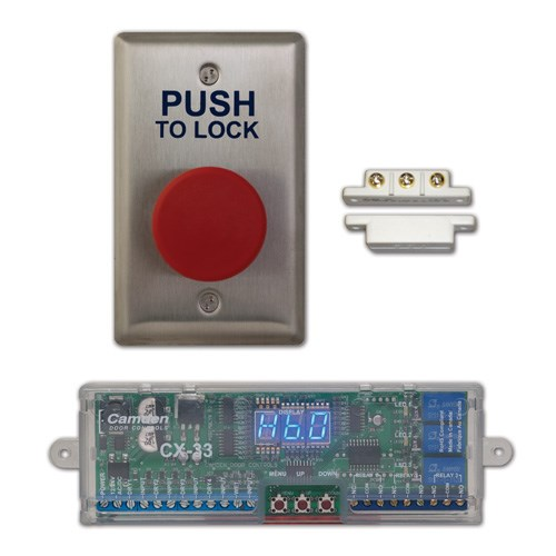 View Restroom Control System Kits: Basic Push Button System (CX-WC10)
