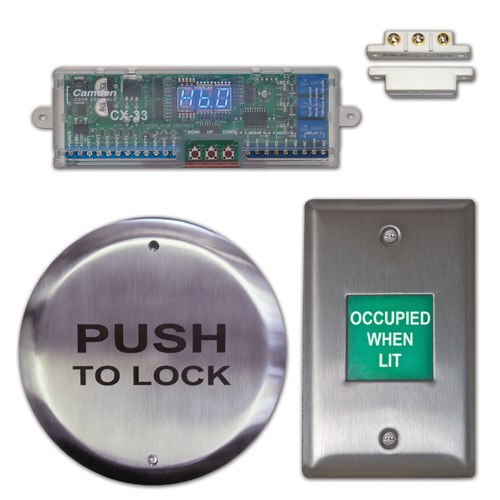 View Restroom Control System Kits: Push Plate & Annunciated Restroom Control System (CX-WC12)