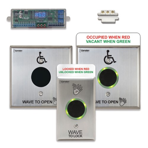 View Restroom Control System Kits: Touchless Switch Restroom Control System (CX-WC16)