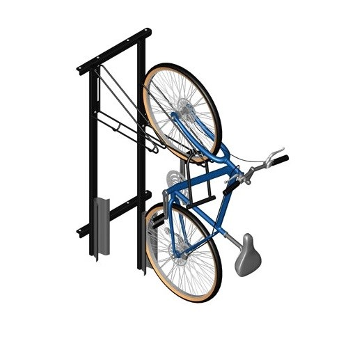 View Vertical Bike Racks - WallRack™ Frame