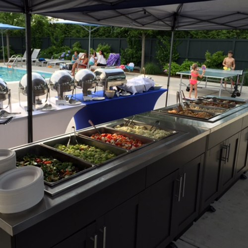 View Outdoor Kitchens Mobile Units: Buffet