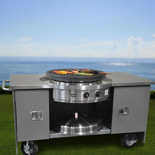 View Outdoor Kitchens Mobile Units: Food EVO