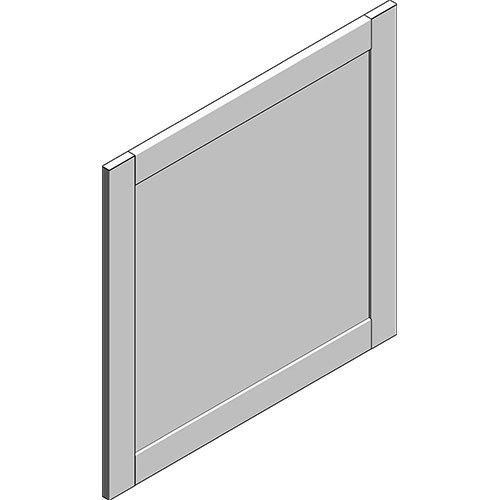 View Cabinet Revit Object: OBPXXKW PANEL EQUAL BP