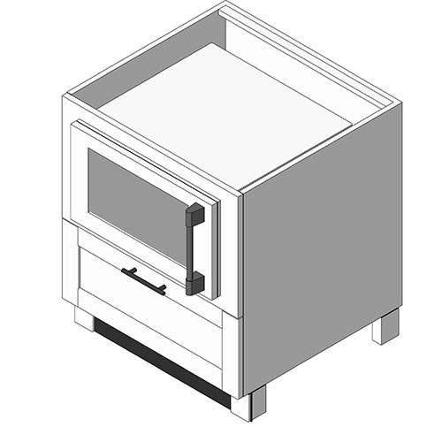 View Cabinet Revit Object: OBMW Microwave Base