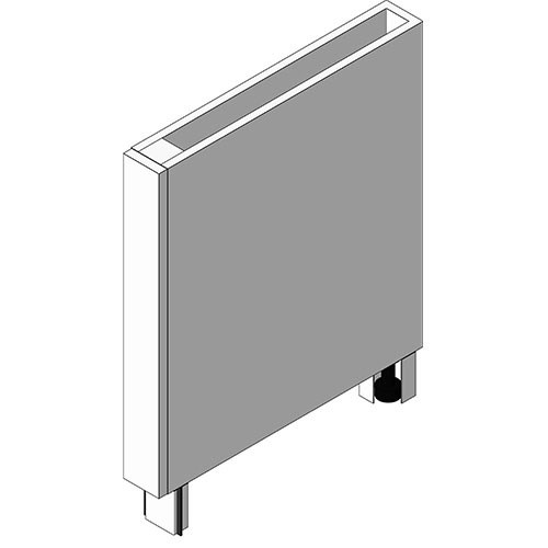 View Cabinet Revit Object: OBX Box Column Spacer