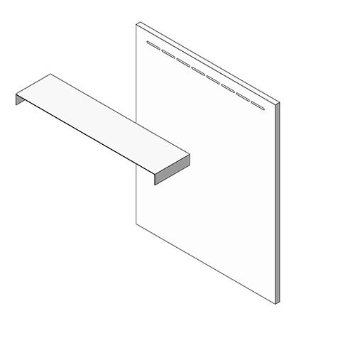 View Cabinet Revit Object: ORS Refrigerator Spacer