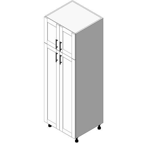 View Cabinet Revit Object: TB Tall Storage Cabinet