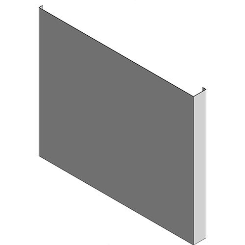 View Cabinet Revit Object: ORPSXX XX XXL ORP OBX Custom Depth Flush Side Panels
