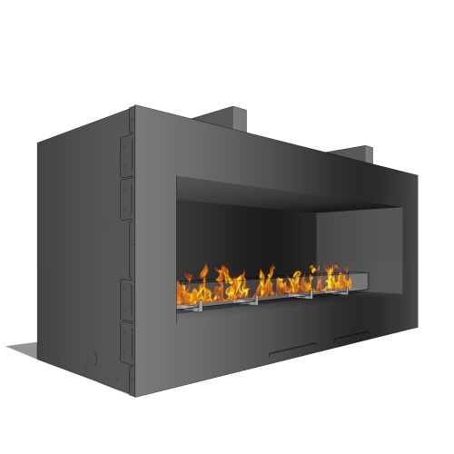 Fire Ribbon Vent Free 4' Outdoor ( Model SS48 )
