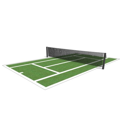 Tennis Court Striping Layout