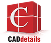 CADdetails Logo - Free CAD Drawings, 3D BIM Models, Revit Families, Sketchup and more.